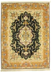 Tabriz 70Raj Silke Varp Tappeto 152X205 Orientale Fatto A Mano (Lana/Seta, Persia/Iran)