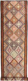 Kilim Fars Tappeto 158X830 Orientale Tessuto A Mano Alfombra Pasillo Rosso Scuro/Marrone Chiaro (Lana, Persia/Iran)