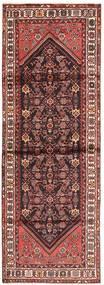 Hamadan Tappeto 100X300 Orientale Fatto A Mano Alfombra Pasillo Rosso Scuro/Beige (Lana, Persia/Iran)