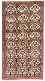 Koliai Tappeto 100X187 Orientale Fatto A Mano Marrone/Rosso Scuro/Beige (Lana, Persia/Iran)