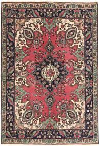 Tabriz Patina Tappeto 142X204 Orientale Fatto A Mano Marrone Scuro/Rosso Scuro (Lana, Persia/Iran)