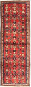 Zanjan Tappeto 102X300 Orientale Fatto A Mano Alfombra Pasillo Rosso Scuro/Marrone Scuro (Lana, Persia/Iran)