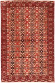 Turkaman Patina Tappeto 210X316 Orientale Fatto A Mano Rosso Scuro (Lana, Persia/Iran)