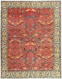 Tabriz Patina Tappeto 248X318 Orientale Fatto A Mano Rosso Scuro/Ruggine/Rosso (Lana, Persia/Iran)