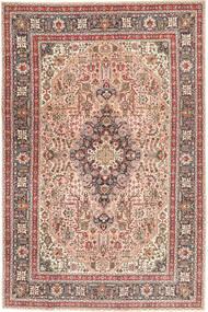 Tabriz Patina Tappeto 198X294 Orientale Fatto A Mano Marrone/Marrone Chiaro (Lana, Persia/Iran)