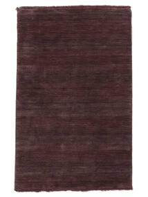 Handloom Fringes - Rosso Bordeaux Tappeto 160X230 Moderno Porpora Scuro/Marrone Scuro (Lana, India)