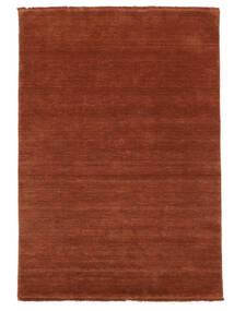 Handloom Fringes - Rosso Ruggine Tappeto 140X200 Moderno Ruggine/Rosso/Rosso/Rosso Scuro (Lana, India)