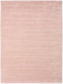 Handloom Fringes - Rosa Chiaro Tappeto 200X300 Moderno Rosa Chiaro/Beige (Lana, India)