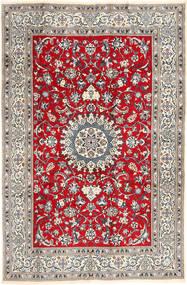 Nain Tappeto 196X297 Orientale Fatto A Mano Grigio Chiaro/Marrone (Lana, Persia/Iran)