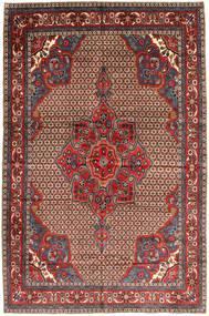 Koliai Tappeto 205X300 Orientale Fatto A Mano Rosso Scuro/Marrone Scuro (Lana, Persia/Iran)