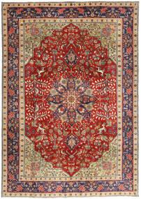 Tabriz Patina Tappeto 193X277 Orientale Fatto A Mano Rosso Scuro/Ruggine/Rosso (Lana, Persia/Iran)