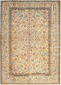 Keshan Tappeto 296X410 Orientale Fatto A Mano Beige/Beige Scuro Grandi (Lana, Persia/Iran)