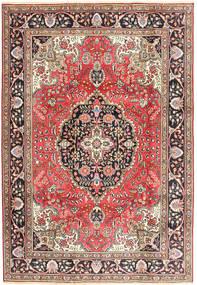 Tabriz Tappeto 200X287 Orientale Fatto A Mano Rosso Scuro/Marrone (Lana, Persia/Iran)