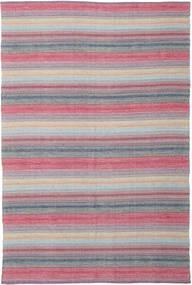 Wilma - Rosa Tappeto 220X320 Moderno Tessuto A Mano Violet Clair/Rosa Chiaro (Cotone, India)