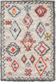 Fatima - Multi Tappeto 120X180 Moderno Tessuto A Mano Grigio Chiaro/Beige (Lana, India)