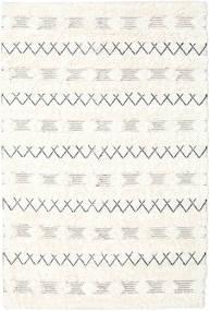 Shedir - Bianco Tappeto 160X230 Moderno Tessuto A Mano Beige/Bianco/Creme (Lana, India)