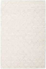 Rut - Azzurro Grigio Melange Tappeto 200X300 Moderno Tessuto A Mano Bianco/Creme/Beige Scuro/Beige (Lana, India)