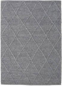Svea - Charcoal Tappeto 140X200 Moderno Tessuto A Mano Grigio Chiaro/Grigio Scuro (Lana, India)