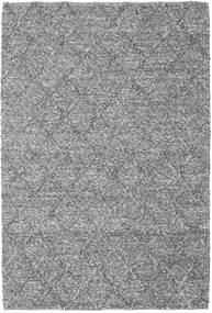 Rut - Grigio Scuro Melange Tappeto 160X230 Moderno Tessuto A Mano Grigio Chiaro/Marrone Scuro (Lana, India)