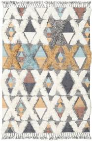 Xavier - Multi Tappeto 160X230 Moderno Tessuto A Mano Beige/Grigio Chiaro (Lana, India)
