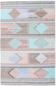 Tappeto Esterno Pet Yarn Kilim Tappeto 160X230 Moderno Tessuto A Mano ( India)