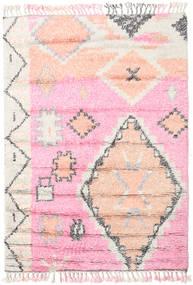 Odda - Rosa Tappeto 160X230 Moderno Fatto A Mano Rosa Chiaro/Bianco/Creme (Lana, India)
