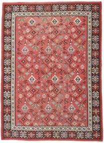 Kilim Russo Tappeto 230X312 Orientale Tessuto A Mano Ruggine/Rosso/Rosso Scuro (Lana, Azarbaijan/Russia)