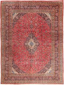 Mashad Tappeto 295X390 Orientale Fatto A Mano Rosso Scuro/Marrone Chiaro Grandi (Lana, Persia/Iran)