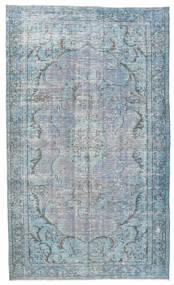 Colored Vintage Tappeto 158X260 Moderno Fatto A Mano Azzurro/Grigio Chiaro (Lana, Turchia)