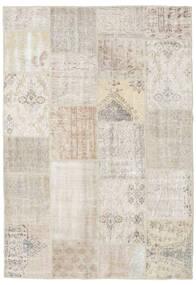 Patchwork Tappeto 159X231 Moderno Fatto A Mano Grigio Chiaro (Lana, Turchia)