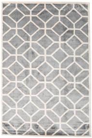 Palace Tappeto 200X300 Moderno Fatto A Mano Grigio Chiaro/Bianco/Creme ( India)