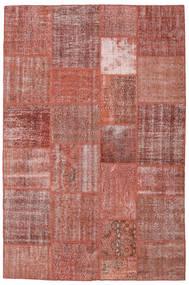 Patchwork Tappeto 198X301 Moderno Fatto A Mano Marrone/Rosso Scuro (Lana, Turchia)