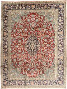 Kirman Tappeto 237X318 Orientale Fatto A Mano Grigio Chiaro/Marrone Scuro (Lana, Persia/Iran)