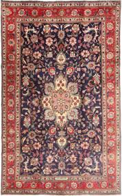 Tabriz Tappeto 190X315 Orientale Fatto A Mano Rosso Scuro/Porpora Scuro (Lana, Persia/Iran)
