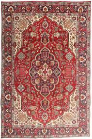Tabriz Tappeto 194X300 Orientale Fatto A Mano Rosso Scuro/Ruggine/Rosso (Lana, Persia/Iran)