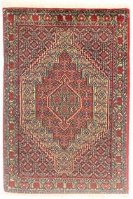 Senneh Tappeto 72X109 Orientale Fatto A Mano Marrone Chiaro/Rosso Scuro (Lana, Persia/Iran)