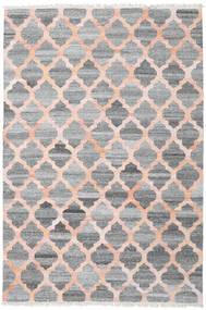 Tappeto Esterno Kathi - Grigio/Coral Tappeto 200X300 Moderno Tessuto A Mano Grigio Chiaro/Grigio Scuro/Rosa Chiaro ( India)