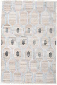 Cosmou - Chiaro Blu Tappeto 200X300 Moderno Tessuto A Mano Grigio Chiaro/Bianco/Creme ( India)