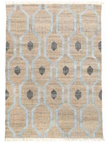 Tappeto Esterno Cosmou - Chiaro Blu Tappeto 170X240 Moderno Tessuto A Mano Grigio Chiaro/Bianco/Creme ( India)