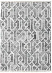 Tappeto Esterno Trinny - Scuro Grigio/Grigio Tappeto 170X240 Moderno Tessuto A Mano Grigio Chiaro/Bianco/Creme ( India)