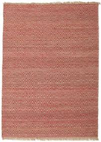 Tappeto Esterno Jaque Jute Tappeto 170X240 Moderno Tessuto A Mano Rosso Scuro/Marrone (Tappeto In Iuta India)