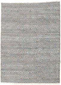 Tappeto Esterno Thar Jute Tappeto 170X240 Moderno Tessuto A Mano Grigio Chiaro/Blu (Tappeto In Iuta India)