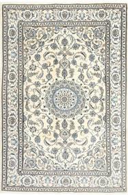 Nain Tappeto 195X300 Orientale Fatto A Mano Beige/Grigio Chiaro/Grigio Scuro (Lana, Persia/Iran)