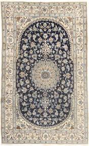 Nain Tappeto 185X310 Orientale Fatto A Mano Grigio Chiaro/Grigio Scuro (Lana, Persia/Iran)