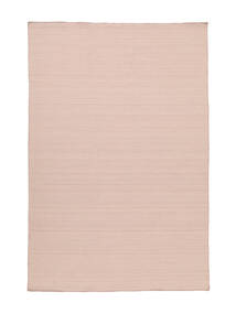 Kilim Loom - Misty Pink Tappeto 140X200 Moderno Tessuto A Mano Rosa Chiaro (Lana, India)