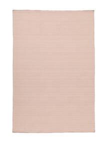 Kilim Loom - Misty Pink Tappeto 160X230 Moderno Tessuto A Mano Rosa Chiaro (Lana, India)