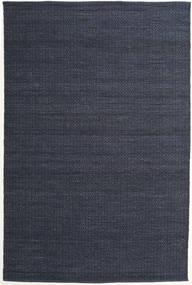 Alva - Blu/Nero Tappeto 200X300 Moderno Tessuto A Mano Blu Scuro/Porpora (Lana, India)