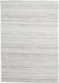 Alva - Grigio/Bianco Tappeto 160X230 Moderno Tessuto A Mano Grigio Chiaro (Lana, India)