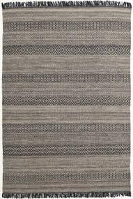 Hedda - Marrone Tappeto 160X230 Moderno Tessuto A Mano Grigio Scuro/Grigio Chiaro (Lana, India)