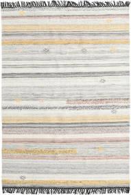 Ragna Tappeto 160X230 Moderno Tessuto A Mano Grigio Chiaro/Beige (Lana, India)
